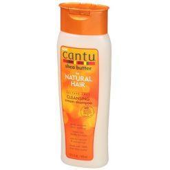 CANTU SHEA BUTTER FOR NATURAL HAIR SULFATE-FREE CLEANSING CREAM SHAMPOO, 13.5 FL OZ