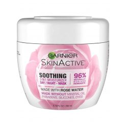 GARNIER SKIN ACTIVE 3-IN-1 FACE MOISTURIZER WITH ROSE WATER