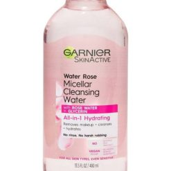 GARNIER SKIN ACTIVE MICELLAR CLEANSER WITH ROSE WATER FOR NORMAL TO DRY SKIN