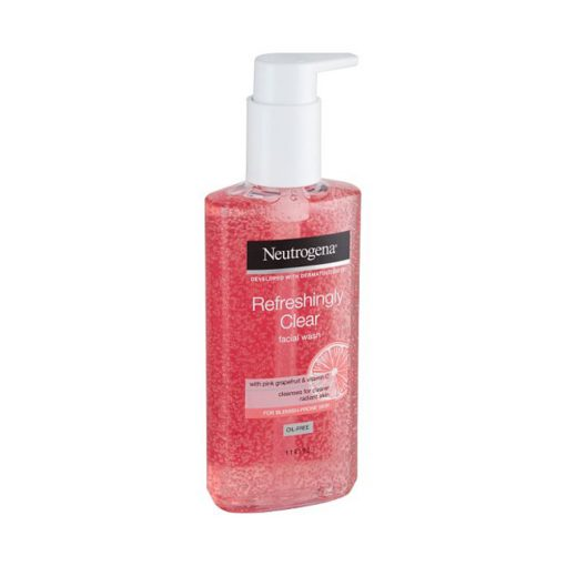 NEUTROGENA REFRESHINGLY CLEAR FACIAL WASH WITH PINK GRAPEFRUIT AND VITAMIN C