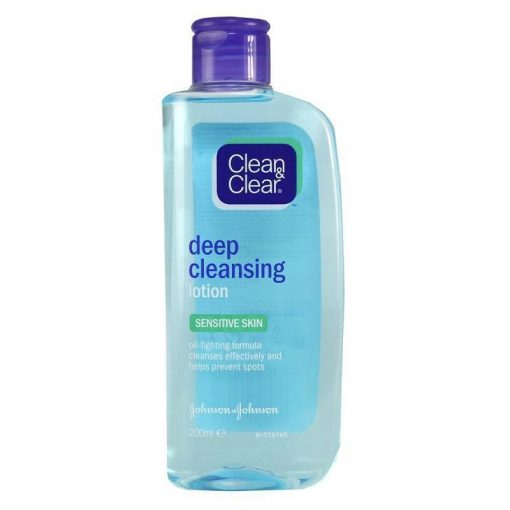 CLEAN & CLEAR DEEP CLEANSING LOTION