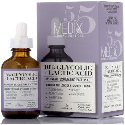 Medix 5.5 Glycolic Acid Peel Serum + Salicylic Acid. Exfoliating Formula With 10% Glycolic Acid 1.75oz