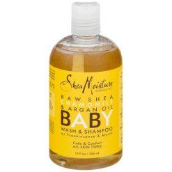 Shea Moisture, Baby Wash & Shampoo, With Frankincense & Myrrh, 13oz