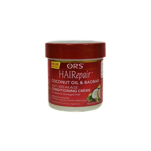 Ors Hairepair Cococnut Oil And Babobab Anti Breakage Conditioning Creme 5oz