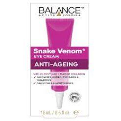 Balance Active Formula Snake Venom Eye Cream Anti Ageing