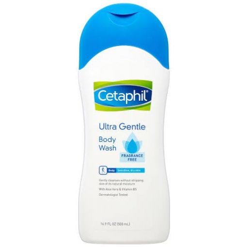 Cetaphil Ultra Gentle Body Wash Frangrance Free 16.9oz