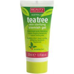 Beauty Formulas Tea Tree Skin Clarifying Blemish Gel-30ml