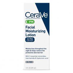 Cerave Pm Facial Moisturizing Lotion(Ultra Lightweight) 3oz