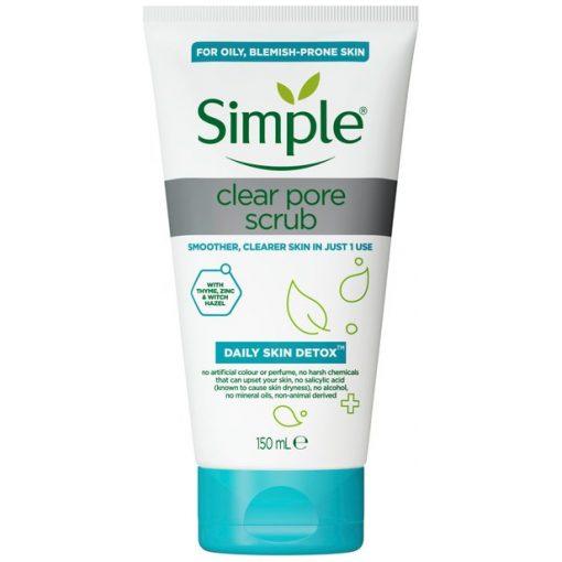 Simple Clear Pore Scrub-150ml