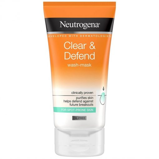 Neutrogena Clear And Defend 2 In 1 Mask